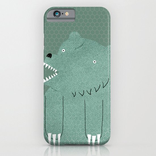 Friendly Bear iPhone & iPod Case