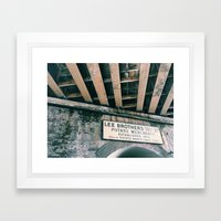 Borough Market Framed Art Print