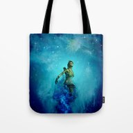 Fighter In The Universe Tote Bag