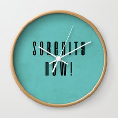 Serenity Now! Wall Clock