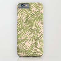 iPhone & iPod Case featuring TROPICAL PALM PRINT by bows & arrows