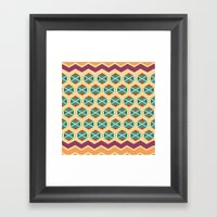 wayuu color option Framed Art Print