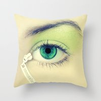 Concealer Throw Pillow