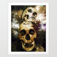 Dawn Of The Day Of The D… Art Print