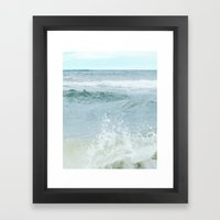 Salt Water for the Soul Framed Art Print