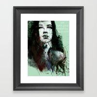 About Youth Framed Art Print
