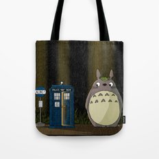 Allons-y Totoro Alternat… Tote Bag