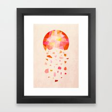 When The Sun Loses Its Radiance Framed Art Print