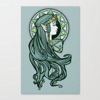 Zelda Nouveau Canvas Print