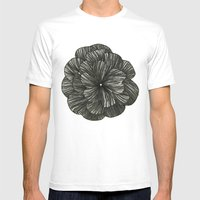 FLOR Mens Fitted Tee White SMALL