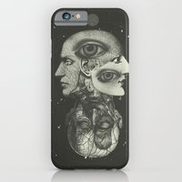 iPhone & iPod Case featuring COSMIC ANATOMY  by Plástica