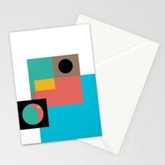 Geometric Crazy 1 Stationery Cards