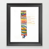 Love In The Year Of The … Framed Art Print