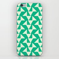 Vintage green summer iPhone & iPod Skin