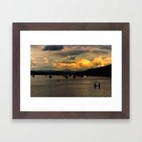 Early Evening Framed Art Print