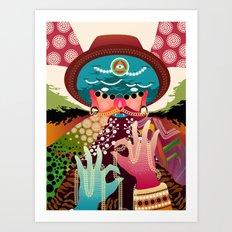 Hypnodellic Art Print