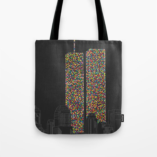 2606 Souls compose The Twin Towers Tote Bag