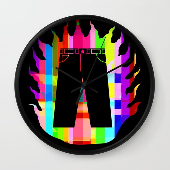 liar, liar Wall Clock