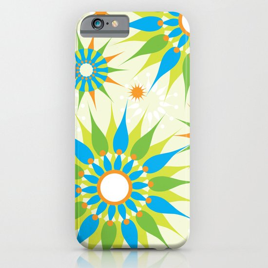 Popsy Twirl Bright iPhone & iPod Case