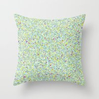 Small Mountains Throw Pillow