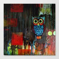 Nocturnal Canvas Print