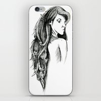 Hair iPhone & iPod Skin