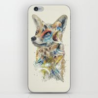 Heroes of Lylat Starfox Inspired Classy Geek Painting iPhone & iPod Skin
