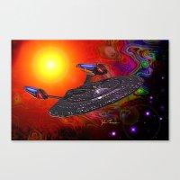 Enterprise NCC 1701E Canvas Print