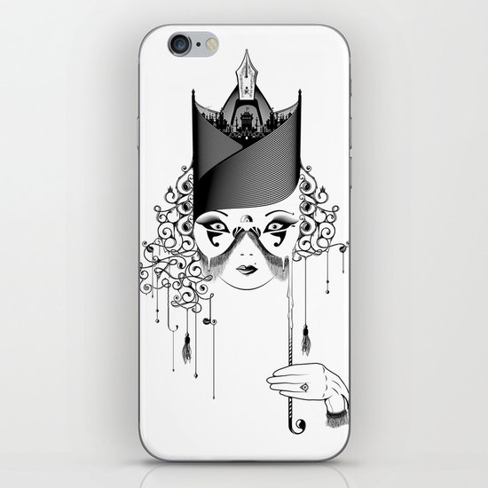 Maskjesty iPhone & iPod Skin