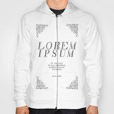LOREM IPSUM Hoody