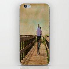 Sunny Day Bike Ride iPhone & iPod Skin