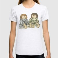 BFFs Womens Fitted Tee Ash Grey SMALL
