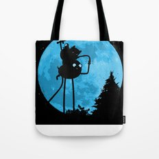 A.T. - With Finn and Jake Tote Bag