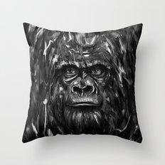 Silverback Throw Pillow