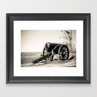 Welcome To Vicksburg 7 Framed Art Print