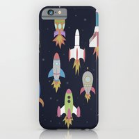 iPhone & iPod Case featuring Rockets! by Yzabelle Wuthrich
