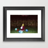 Wasted Youth Framed Art Print