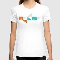 shark T-shirts featuring Shark by Last Call