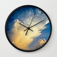 Cloud Explosion Wall Clock