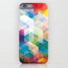 Cuben Curved #3 Geometric Art Print. Slim Case iPhone 6s