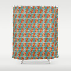 Tile Pattern 2 Shower Curtain