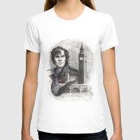 sherlock T-shirts featuring Sherlock  by RileyStark
