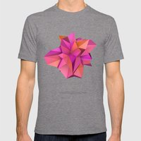 Pink Like Orange Mens Fitted Tee Tri-Grey SMALL