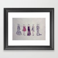 Haute Couture  Framed Art Print