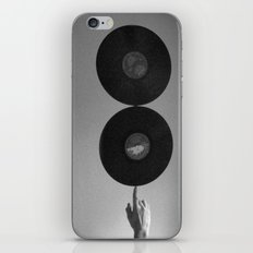 Spinning Records iPhone & iPod Skin