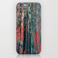 Red Splinters iPhone 6 Slim Case