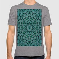 Cactus Star Mens Fitted Tee Athletic Grey SMALL