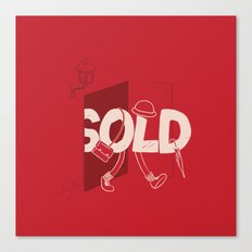 Sold Out Canvas Print