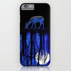 deep blue forest iPhone 6 Slim Case