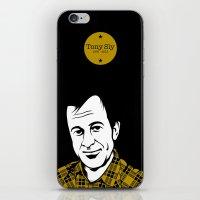Farewell, Tony. iPhone & iPod Skin